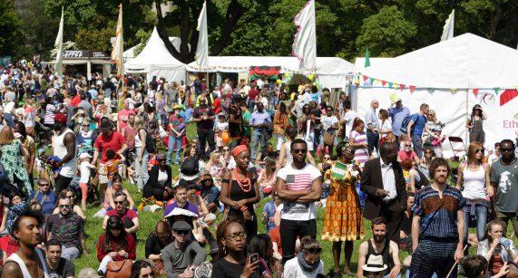 PIC SHOWS: A scene from Africa Day 2016, held at Farmleigh House, Phoenix Park, Dublin. SUN 29-5-16