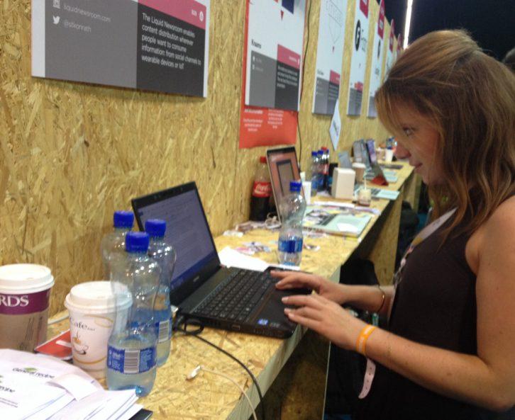 Emily Kelly at the Web Summit