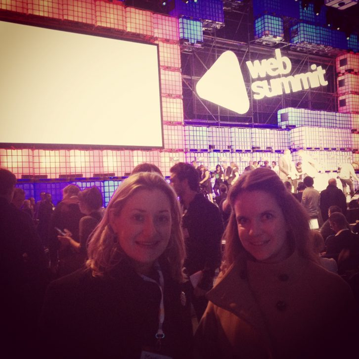 DHR's Martina Quinn & Emily Kelly at the Web Summit