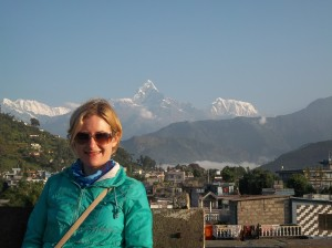 DHR Account Director Martina Quinn in Nepal