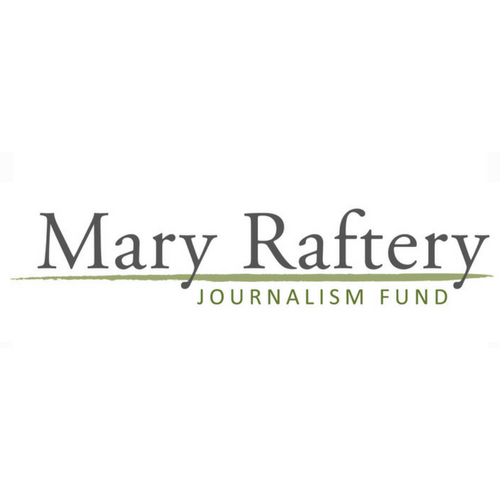 Mary Raftery Journalism Fund Logo