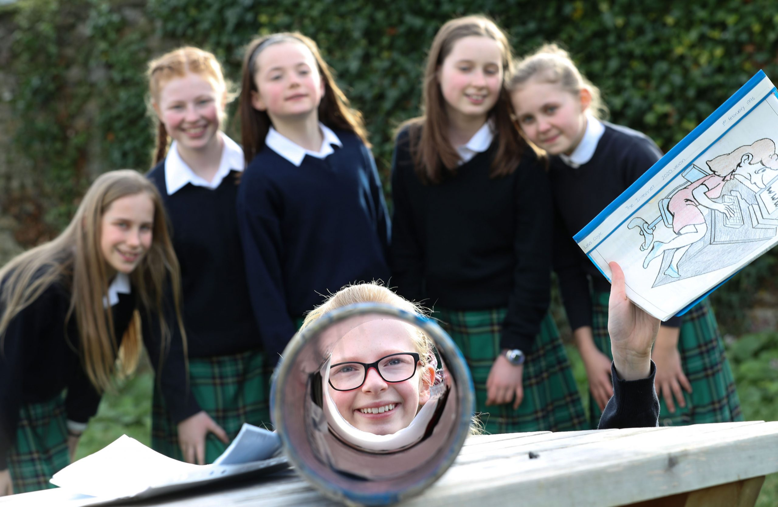 Schools time capsule project reveals students' '20-20 Vision'