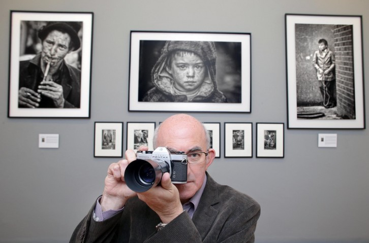 Gerry Andrews at the launch of 'Shaped by History'. Photo by Marc O'Sullivan.
