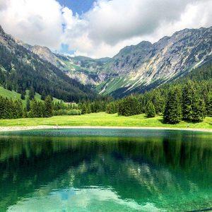 Nebelhorn Lake