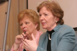 Nuala O'Loan & Mary Robinson