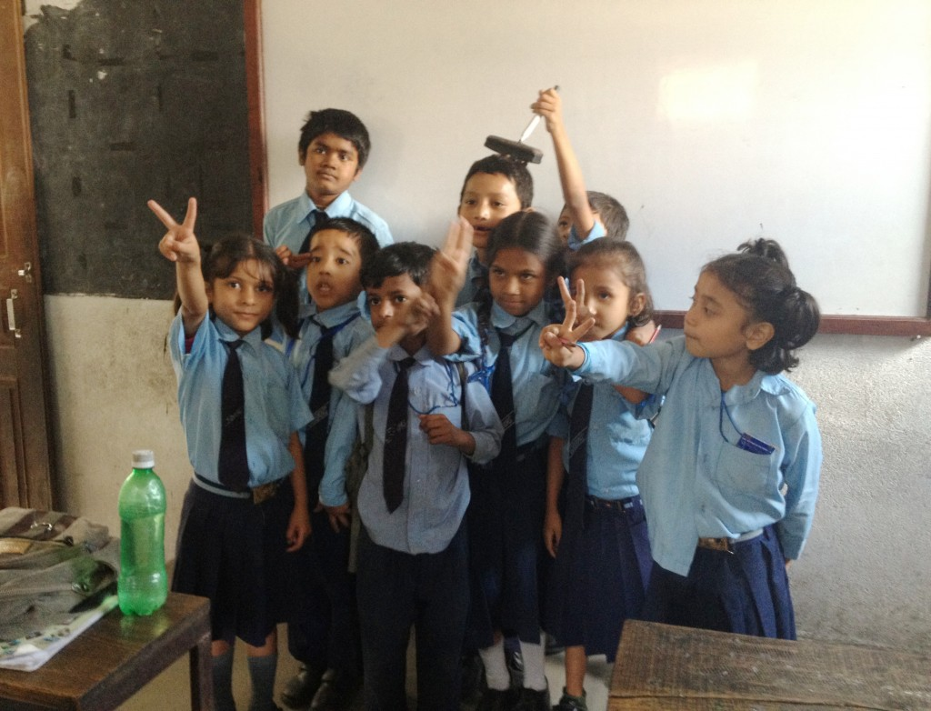 School students in Nepal