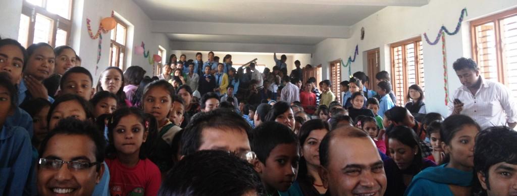 School concert at Shree Baal Byabashyee in Kathmandu, Nepal