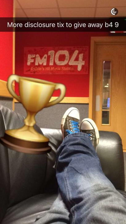 Snapchat FM104