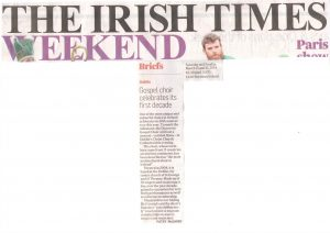 The Irish Times Weekend, 15.03.14