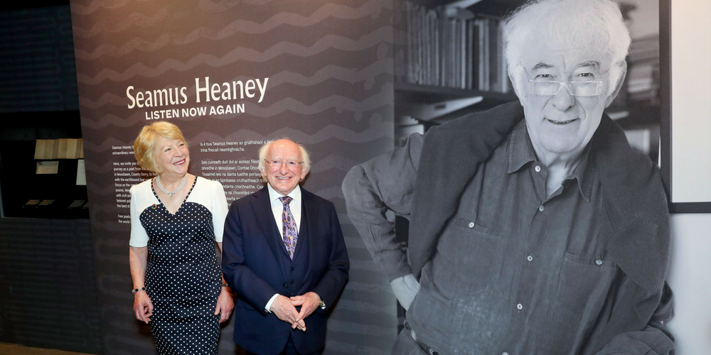 Seamus Heaney Exhibition