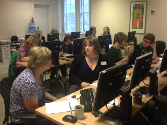 ARA Social Media Training in Edinburgh