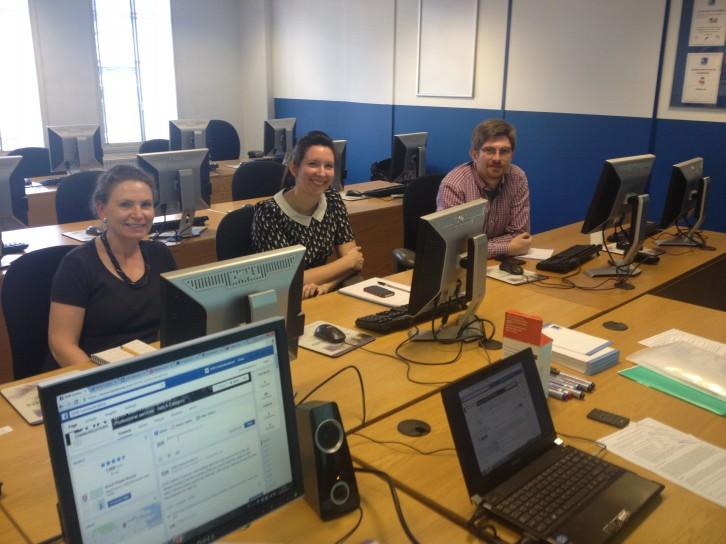 ARA Social Media Training in London